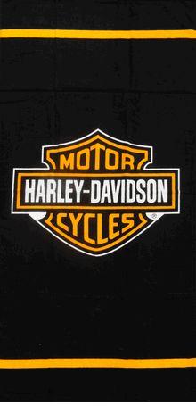 Harley Davidson Logo Beach & Bath Towel !
