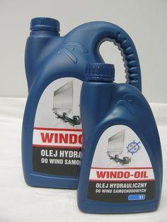 Olej do hydraulicznych wind samochodowych - Windo-oil  5l / 1l