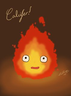 Calcifer. Can someone please tell me the name of this movie. I watched it once and loved it but I forgot the name. Please comment if you know the name. Thanks:)