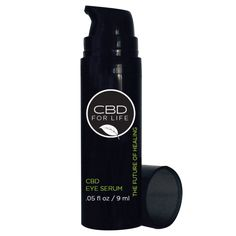 This lightweight, non-greasy fast absorbing formula was created to help with anti-aging and designed to shrink lines, and reduce the appearance of dark circles and puffiness.Gently apply a few dabs morning and evening under and around the eye area for optimal results..5 FL Oz 15 ml INGREDIENTS: WATER (AQUA), GLYCERIN, CAPRYLIC/CAPRIC TRIGLYCERIDE, CYCLOPENTASILOXANE, PAULLINIA CUPANA SEED EXTRACT, CETEARYL ALCOHOL, CANNABIS SATIVA SEED OIL, HYALURONIC ACID, DIMETHICONE, OLEA EUROPAEA…