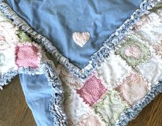 isabella blue designs by isabellabluedesigns Rag Quilt, Patch Quilt, Pink Baby Blanket, Gifts For My Wife, Whimsical Fashion, Personalized Baby Blankets, Recycled Denim, Custom Quilts, Baby Quilts