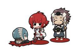 Fire Emblem: If/Fates - Setsuna, Hinoka and Asama