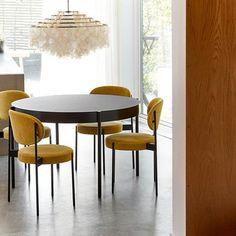 VerPan - Series 430 Chair - dark grey/fabric Hallingdal 65 180/frame black