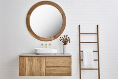 Beachwood Timber Vanity (By Loughlin Furniture). Bathroom Vanities For Sale, Bathroom Vanities Without Tops, Bathroom Renovations, Bath Vanities, Timber Vanity, Concrete Basin, Modern Bathroom, Cozy Bathroom, Bathroom Ideas