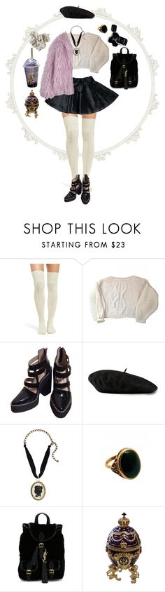 """""""#188"""" by floxpolimon ❤ liked on Polyvore featuring UGG, Piel Leather, Mes Demoiselles..., Jeffrey Campbell, Gucci, Lanvin, Rock 'N Rose, Yves Saint Laurent, Chanel and AmeriLeather"""
