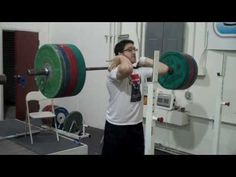 230 kg Front Squat by Max Aita at #CalStrength  #throwback #oldschool #Weightlifting