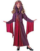 Your young trick-or-treater will look like royalty when they put on the Gothic Princess Child's Halloween Costume. This regal costume includes a purple dress with a matching headpiece, and is perfect for portraying a queen or princess. Costume Halloween, Halloween Costumes For Girls, Halloween Fancy Dress, Girl Costumes, Costumes For Women, Costume Craze, Wicked Costumes, Party Costumes, Children Costumes