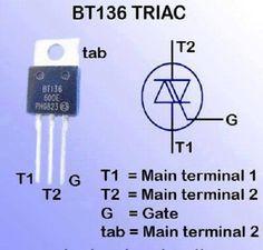 1BT136 TRIAC