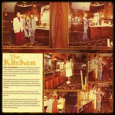 Elvis Graceland kitchen.... Linda Thompson Elvis was with at the time as a live in girlfriend