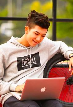 Imagine rapmon writing you an e-Mail and smiling like an idiot