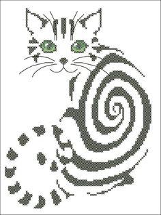 mimi spirale - ouvrage brodé (voir grilles)
