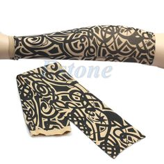 2016 newest 1PC Fake Tattoo Sleeve Temporary Body Arm Sleeves Stockings Fashion Accessories-J117 $2.06