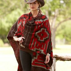 Knit Shawl | King Ranch