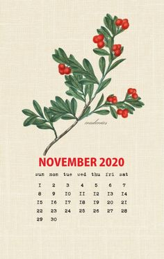Botanical Fruit 2020 Calendar Printable Templates culinary Fruits Monthly Planner In botany Aggregate fruit Ovary Latest Designs 12 Months Yearly One Page Cute Calendar, Vintage Calendar, Monthly Calendar Template, Photo Calendar, Printable Calendar Template, Print Calendar, Calendar Design, Printable Planner, November Calendar