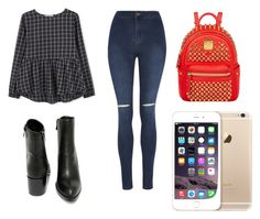 """""""Cool and calm"""" by sophialloyd ❤ liked on Polyvore featuring MANGO, George, Very Volatile, MCM, women's clothing, women, female, woman, misses and juniors"""