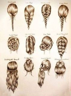 12 different beautiful hair ideas