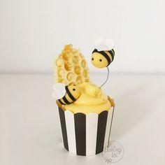 Bee, bees, Honey cupcakes, cupcake, Honig, Biene, bee sting, Bienenstich