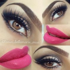 OMG this look is perfection  @rania_bellamarie_mua