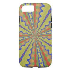 Colorful trendy pattern iPhone 7 case - click/tap to personalize and buy Painting Patterns, Iphone Models, Iphone Case Covers, Iphone 7, Colorful, Abstract Pattern, Wave, Middle, Oil