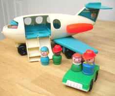 Fisher Price Fun. I remember having these and can even remember playing with them at our church nursery! Was the early 80s really that long ago??