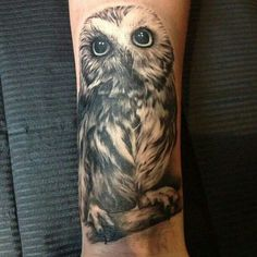 Owl tattoo #inspiration