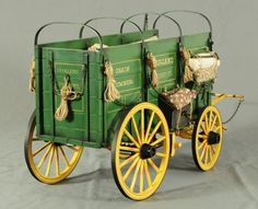 Dale Ford Original Overland Freight Wagon