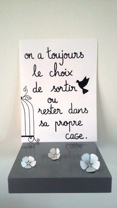 """poster quote """"go out or stay in your own cage"""": Posters, illustrations, posters by stefebricole Wise Quotes About Love, Quotes About Love And Relationships, Love Quotes, Poster S, Quote Posters, Positive Mind, Positive Attitude, Jolie Phrase, Facts You Didnt Know"""