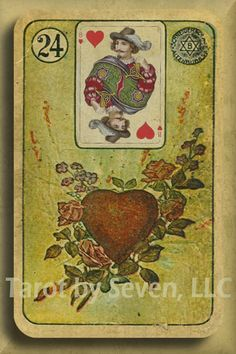 Vintage LENORMAND - 1800s Deck remastered with CHOICE of BACKS and Extra Cards