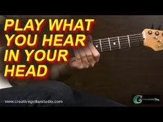EAR TRAINING: How to Play What You Hear in Your Head. - YouTube