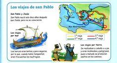 MATERIALES DE RELIGIÓN CATÓLICA: Historia de San Pablo, el apóstol incansable.
