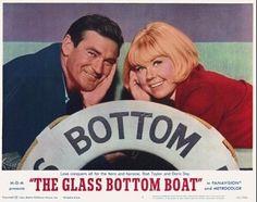 All aboard, all aboard on the glass bottom boat...he he he!