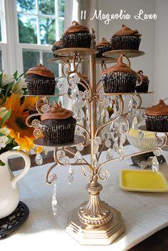 cupcake candle holder