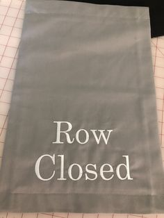 Social distancing signs, row closed signs, theater, auditorium, church signage, reopening, reopen Closed Signs, Reserved Signs, Embroidery Fonts, Auditorium, See Photo, Signage, The Row, Messages, Theater