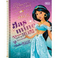 Novo caderno da tilibra das  princesas