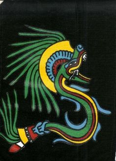 Quetzalcoatl,la Serpiente Emplumada