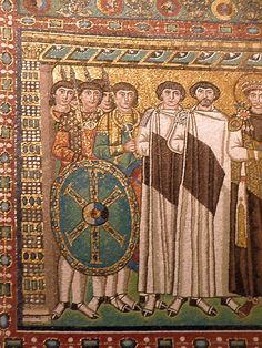 Basilica di San Vitale a Ravenna, particolare dei mosaici. Foto di Mauro Enrico Soldi per Italia Medievale.