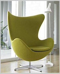 Egg Chair, Home Furniture - Chairs - Lounge Chairs