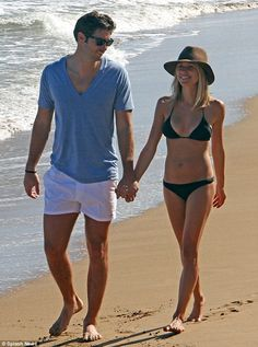 She would like to be less skinny: Kristin Cavallari showed off her bikini body while strolling with husband Jay Cutler in Puerto Rico