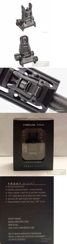 Other Hunting Scopes and Optics 7307: Magpul Mbus Pro Back-Up Front And Rear Steel Sights Mag275 And 276 New *Fast Ship*!! -> BUY IT NOW ONLY: $142.14 on eBay!