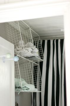 storage inspiration... budget friendly to boot...