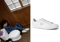 "Jo In-Sung 조인성 in ""It's Okay, That's Love"" Episode 5.  Fred Perry Hopman Leather Sneakers #Kdrama #ItsOkayThatsLove 괜찮아, 사랑이야 #JoInSung"