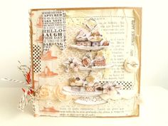 Cardmaking: with scraps, vintage book pages, typing and decoupage - by Julie Kirk