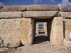 Hagar Qim - an old temple in Malta. Very interesting.