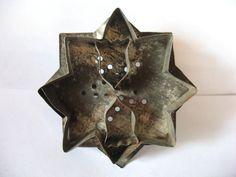 Antique Vintage Tin Metal Cookie Cutter Tulips Pa Dutch Primitive Folk Art | eBay