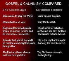 68 Best TEACHINGS BASED ON SCRIPTURE THAT REFUTE CALVINISM