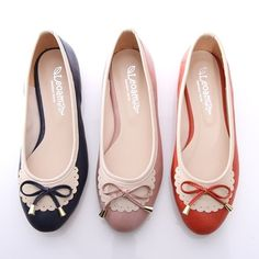 BN Womens Bowed Casual Walking Ballet Flats Ballerinas Shoes Loafers Comfy Cute | eBay