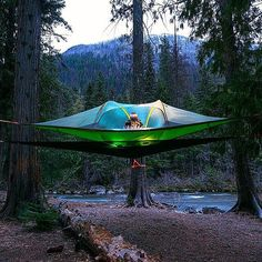 Tentsile, local to us and amazing idea, if you love camping you need to see what they have to offer.
