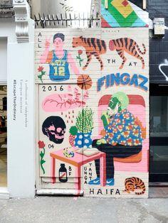 Pin by darren weir on street art in 2019 illustration art, s Murals Street Art, Street Art Graffiti, Art Mural, Graffiti Images, Wall Murals, Art And Illustration, Illustrations, Art Public, Art Et Design