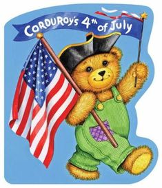 Today is the Fourth of July, and Corduroy and his friends are having a fun- filled picnic. They eat tasty treats and play games in the hot summer sun. Then it's time to cool down with a dip in the pool. Next they take part in an Independence Day parade!
