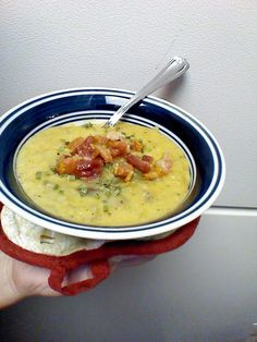 Comfort food - Crock pot potato soup